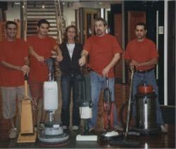 staff de La Marina impresa di pulizie a milano